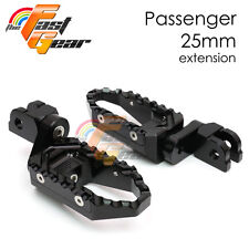 TFG Wide 25mm Riser Passenger Foot Pegs For Ducati 1098 S/R/EVO 07 08 09