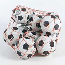 FOOTBALL BASKETBALL STORAGE BAG DRAW CORD MESH SACK BALL CARRY NET ONLY UK