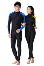 New Surfing Long Sleeve Rash Guards Dive Skin Swimwear Lycra Diving Jumpsuit