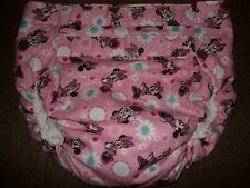Dependeco All In One flannel adult baby diaper S/M/L/XL  (minnie)