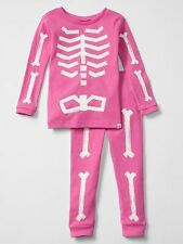 NEW Baby Gap 2 Piece PJs Glow in Dark Skeleton Halloween Set NWT 2t 3t 4t 5t