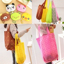 Lovely Storage Handbag Cotton Cute Foldable Shopping Tote Reusable shopping Bags