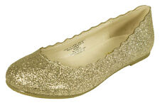BENCH2! Soda Kid's Girl Slip On Round Toe Wave Cut Out Ballet Dress Flats