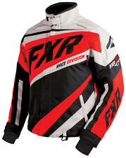 FXR Mens Black/Red/White Snowmobile Cold Cross X Jacket Snocross