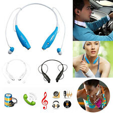 Bluetooth Wireless Headset Earphone Headphone Sport Stereo For iPhone Samsung LG