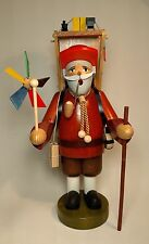 Erzgebirge German Smoker - Toy Vendor - NEW IN BOX!