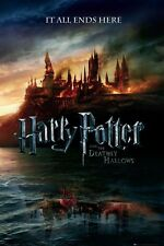 New The End of an Era Harry Potter and The Deathly Hallows Poster