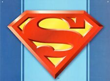 New DC Comics Superman Logo Metal Tin Sign 40x30cm