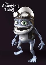 New Crazy Frog Posing The Annoying Thing Poster