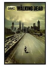 New Gloss Black Framed The Walking Dead Andrew Lincoln Is Rick Grimes Poster