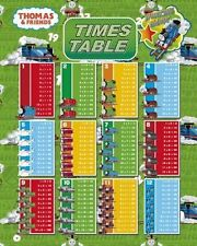 New Times Table Thomas and Friends Mini Poster