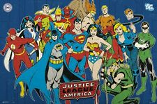 Justice League of America DC Comics JLA Poster 91.5x61cm
