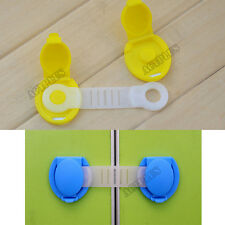 5PCS Drawer Cabinet Wardrobe Door Fridge Safety Lock For Baby Child Kid NEW