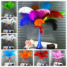 10-100pcs High Quality Natural OSTRICH FEATHERS 12-14' Inch Weddings birthdays