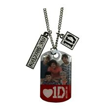 One Direction Band Portrait Tag Necklace - NEW & OFFICIAL