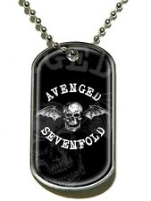 Avenged Sevenfold Death Bat A7X Dog Tag - NEW & OFFICIAL