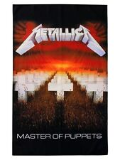 Metallica Master of Puppets Textile Flag - NEW & OFFICIAL