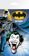 Batman Comic Joker Face Keyring 7.5x15cm
