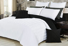 luxton Sally KING / queen size white Quilt Cover Set / duvet Cover & pillowcases