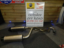 Full Termignoni Exhaust System - To fit Honda CRF450 2015 & 2016 Models