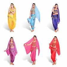 Professional Ladies Women Belly Dance Skirts India Costume Belly Four Set Series