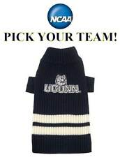 NCAA DOG SWEATER * PICK YOUR TEAM * Collegiate College Football Puppy Pet Shirt