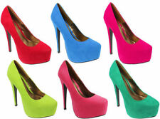 NEW WOMENS SEXY HIGH HEEL FASHION PLATFORM POINTY COURT SHOES UK SIZES 3-8
