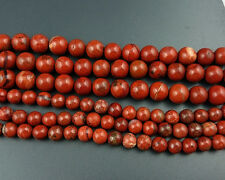 natural red jasper gemstone beads round loose semi precious beads 6mm 8mm 10mm