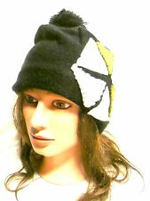 New Knit Beanie Men's Women's Winter Hat Oversize Ski Slouchy Cap Chic Unisex