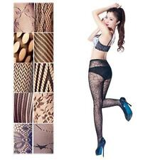 9 Styles Women Black Sexy Fishnet Jacquard Stockings Pantyhose Clubwear Tights