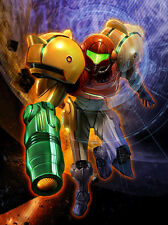 Metroid Prime Game Fabric Art Cloth Poster 32inch x 24inch Decor 08