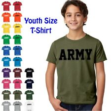ARMY Physical Training US Military PT Boys Girls YOUTH FIT T Shirt