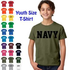 NAVY Physical Training US Military PT Boys Girls YOUTH FIT T Shirt
