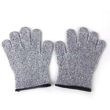 1 Pair Anti-Slash Cut Proof Static Resistance Gloves Hand Protector Size S M L
