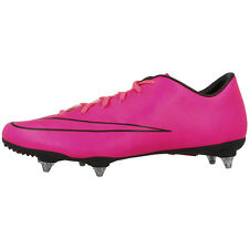 NIKE MERCURIAL VICTORY V SG CLEATS SHOES FOOTBALL SHOES PINK BLACK 651633-660