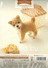 Japanese Kit Needle Felting Japanese Shiba Inu Pattern