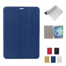 """Ultra Slim Leather Case Cover Stand For Samsung Galaxy Tab S2 T710 8"""" /T810 9.7"""""""