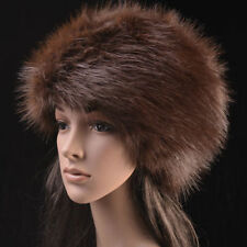 Posh Hight Quality Faux  Fox  Fur Warm Glamour Ski Hat for Winter 15/16