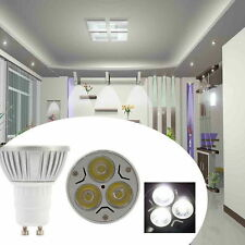 220V 6/12X 4/6W LED Lamps Spot Lights GU10 Day Warm White Bulbs High Power Lamps