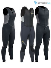 Gul Response 3/2mm Long John Long Jane Wetsuit Front Zip 3mm Mens Ladies Womens