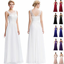 CHEAP Prom LONG Formal Evening WEDDING Party Ball Gown Cocktail Dress PLUS SIZE