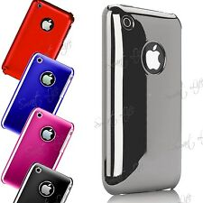 Chrome Finish Premium Hard Shinny Back Case Cover Skin For Apple iPhone 3G,3GS