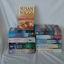 Susan Wiggs 10 Books Romance Fiction Lovers Friends Family Members Lot SW2