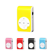 Hot Sale With Clip USB Support 32GB MP3 Players Micro SD TF Card Music Media