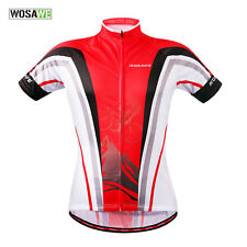 New Mens Team Outdoor Sports Cycling Bike Short Sleeve Jersey Tops Size S-2XL