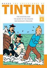 Adventures of Tintin by Herge Hardcover Book (English)