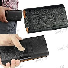 PU Leather Magnetic Flip Belt Clip Hip Case Pouch Holster For Nokia, Sony, Moto