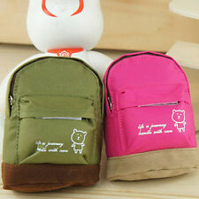 Girl's Coin Purse Cute Bear Mini Backpack Shape Keys Pouch Wallet Bag Alluring