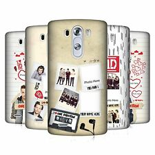 CUSTOM PERSONALISED ONE DIRECTION 1D CRAZY OVER YOU HARD CASE FOR LG PHONES 1