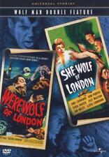 WOLFMAN DOUBLE FEATURE - WEREWOLF OF [USED DVD]